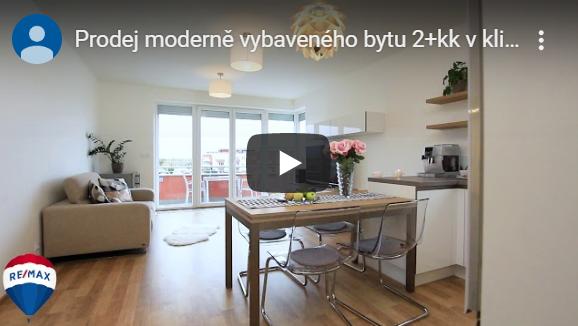 Prodej moderně vybaveného bytu 2+kk vklidné zástavbě Pitkovic.